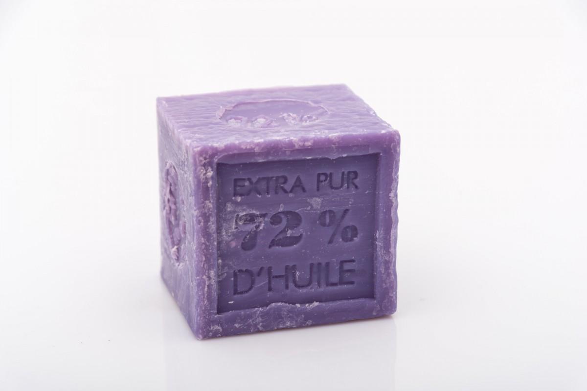 Натуральное марсельское мыло с лавандой 300 гр_1. vivacite.ru