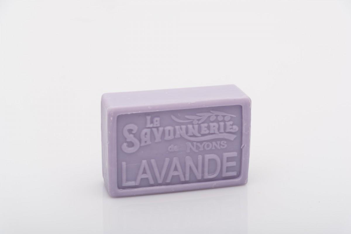 Мыло с лавандой прямоугольное 100 гр_1. vivacite.ru