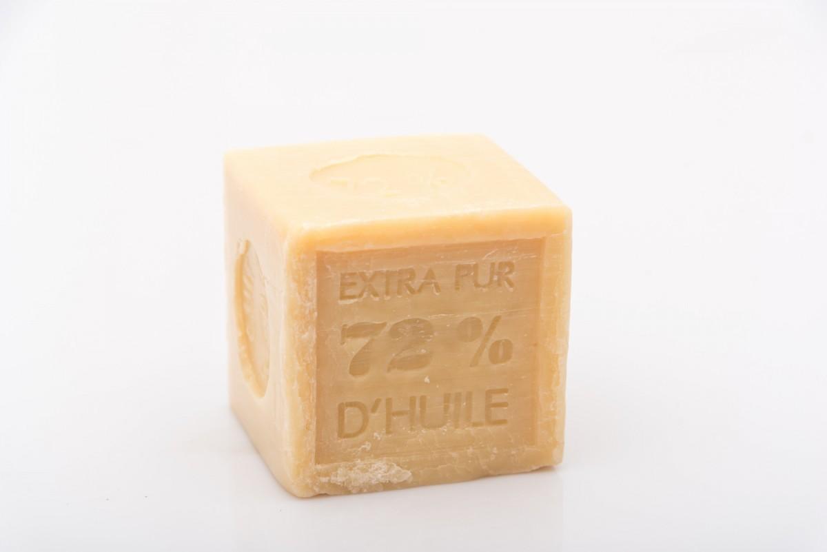 Натуральное марсельское мыло в форме куба 300 гр_1. vivacite.ru
