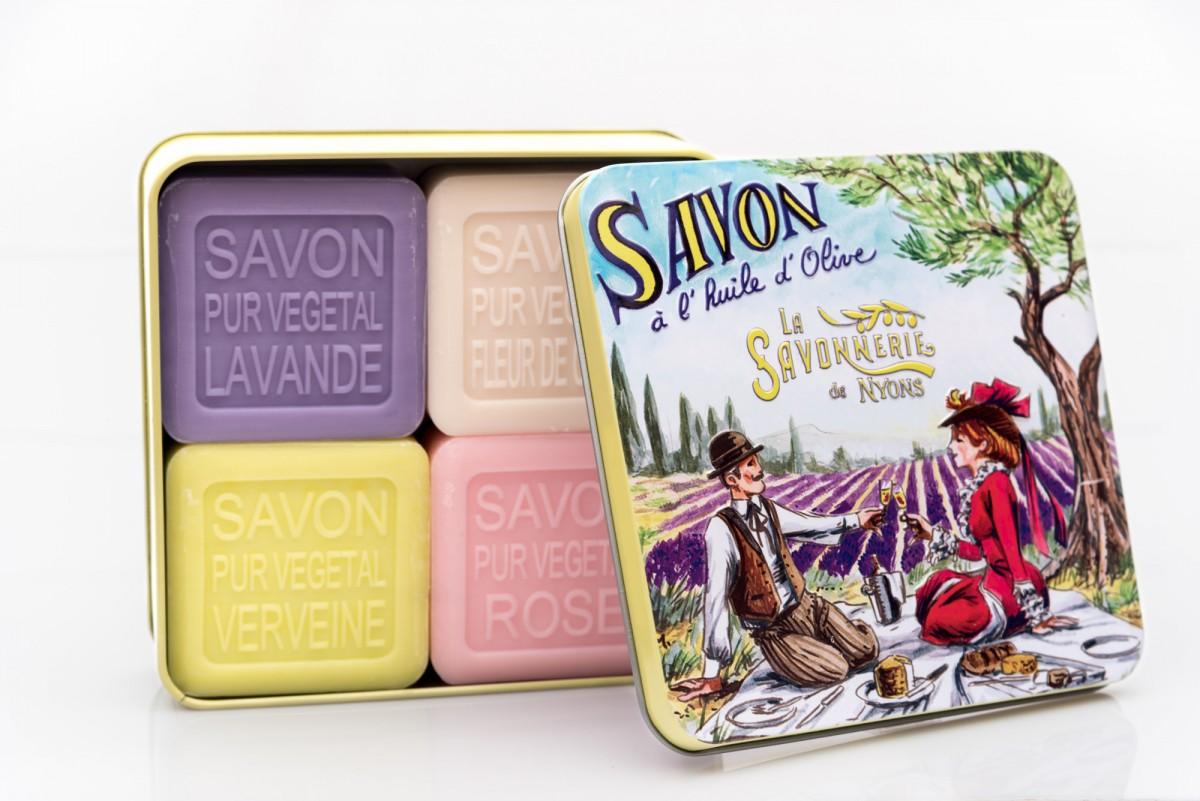 набор мыла в коробке пикник www.vivacite.ru