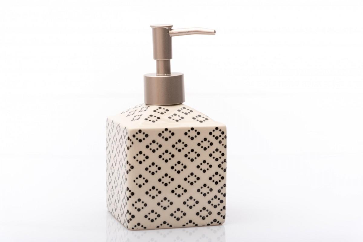 дозатор для жидкого мыла черный www.vivacite.ru