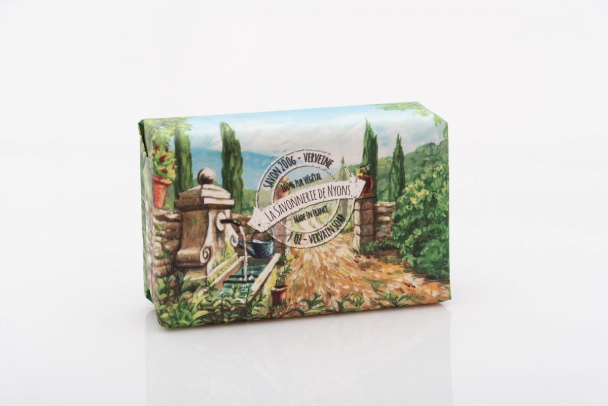 Мыло свежая вербена в бумажной упаковке 200 гр. vivacite.ru