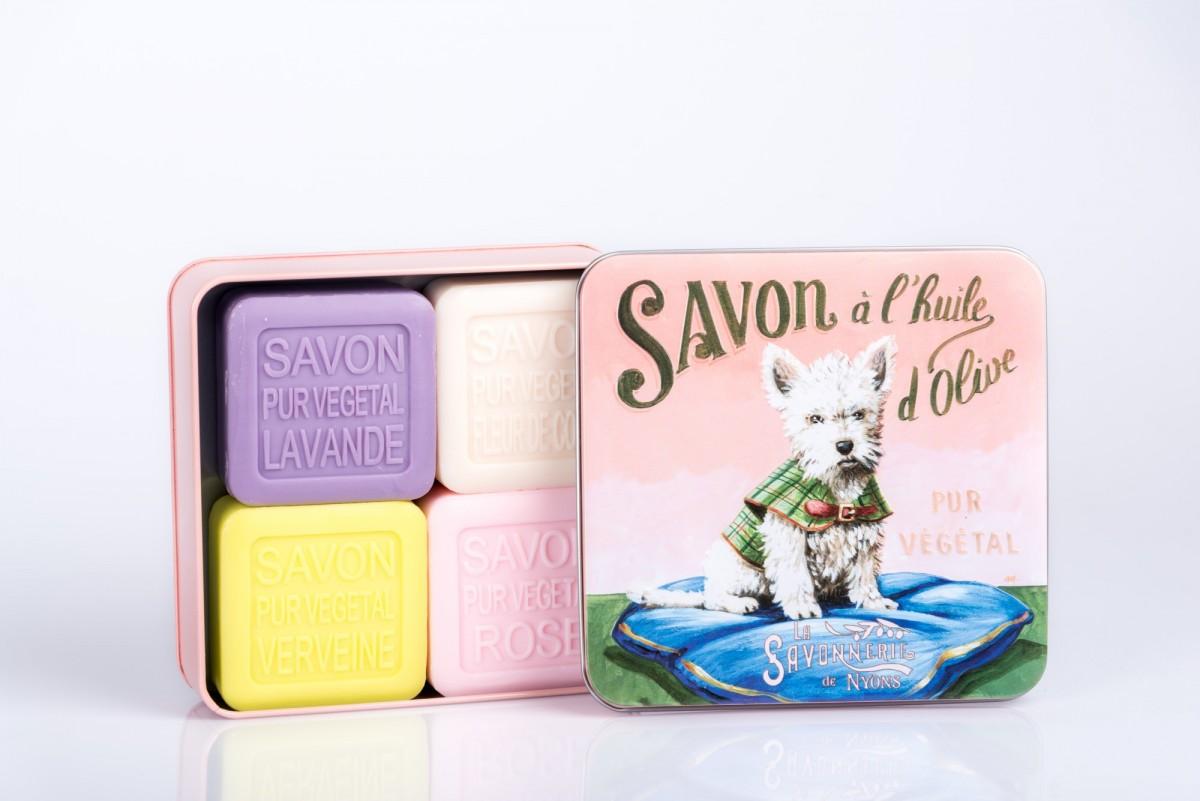 Набор мыла в подарочной коробочке vivacite