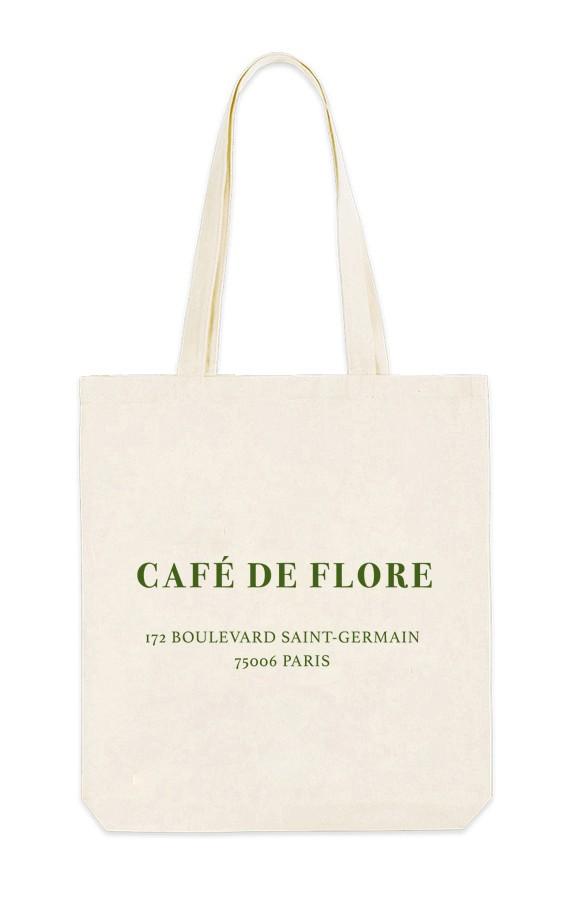 шоппер кафе де Флор